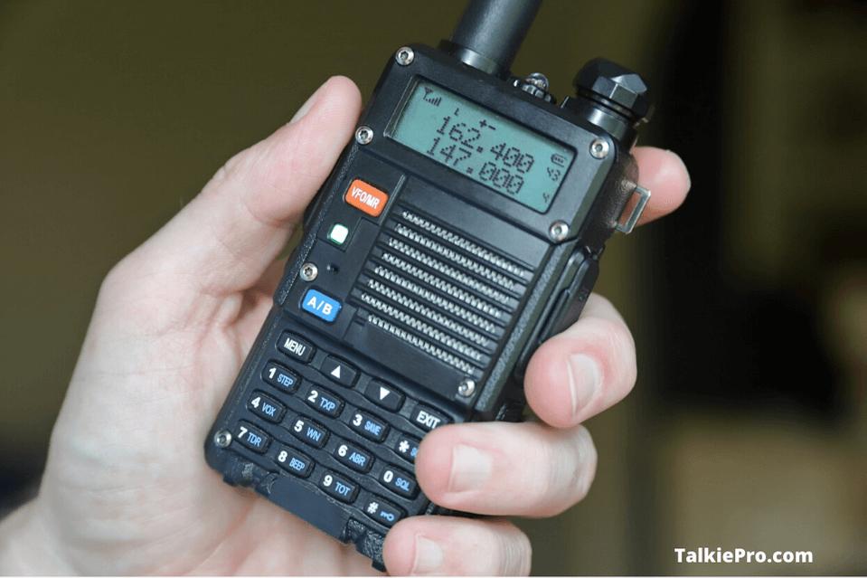 most powerful handheld ham radio