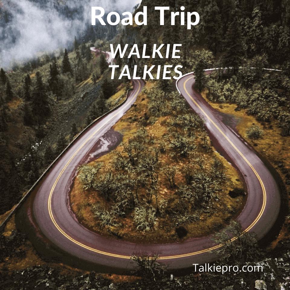best walkie talkies for road trips